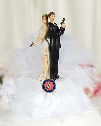 Military Super Y Cake Topper Air Force Navy Army Marines