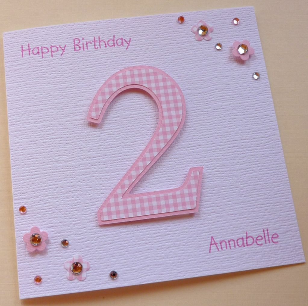 Baby 2nd Birthday Cards Download Personalised Lucky Sixpence