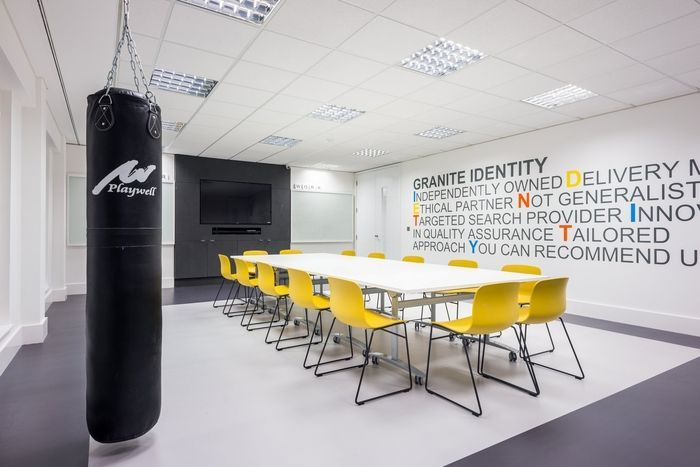 Granite Search Selection Offices London Who Doesn T Want A Punching Bag In Their Conference Room