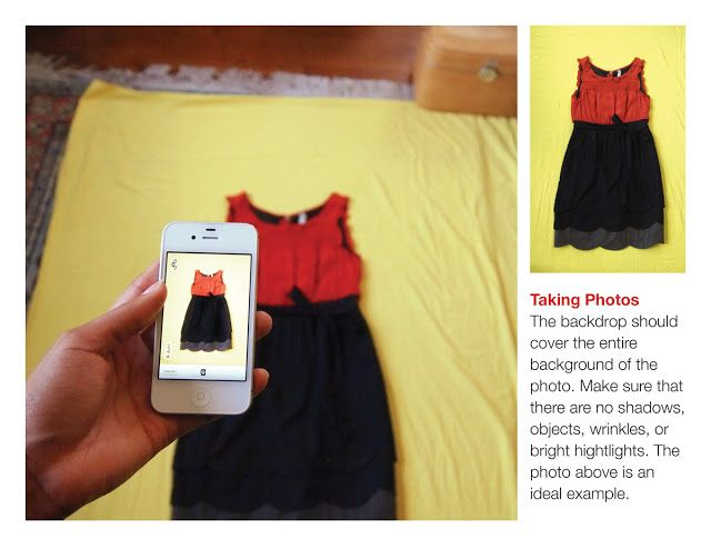 8213a8a66e09e3 How to take good pictures of your clothes for Stylebook iPhone Closet App