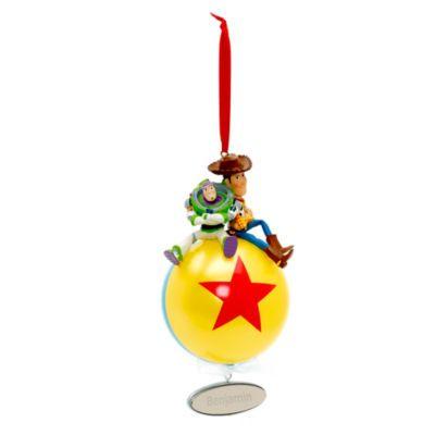 Toy Story - Buzz und Woody Weihnachtsdekoration (personalisierbar)