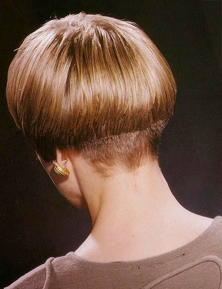 A Distinct Weight Line Wedge Haircut Wedge Hairstyles Short Wedge Hairstyles