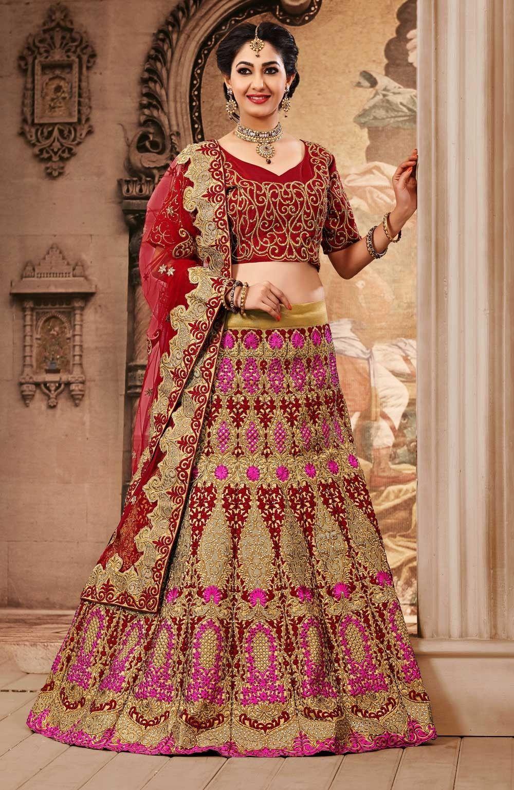 Choose Perfect Lehenga Choli For Your Wedding