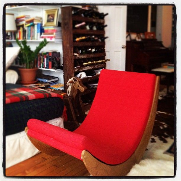 Verner Panton\'s Relaxer Rocking Chair   Interior / Furniture ...