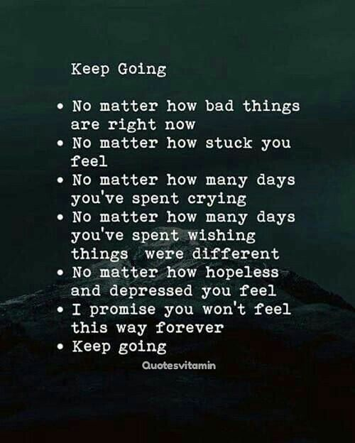 """Positive & Motivational Quotes on Instagram """"Keep going"""