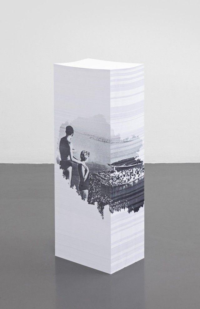 Aleksandra Domanovic Paper Sculptures-2