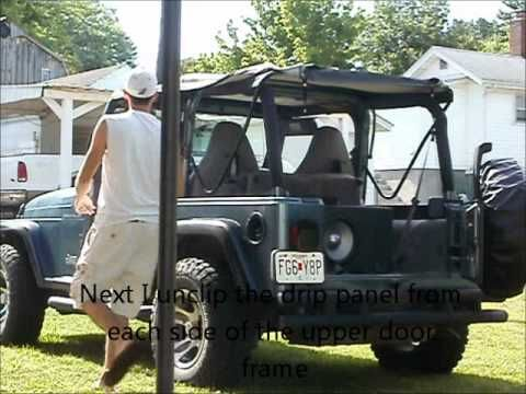 Jeep Wrangler Tj Soft Top Removal Jeep Wrangler Tj Jeep Wrangler Jeep