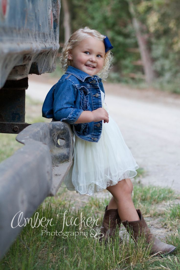 Little Cowgirl Flower Girl