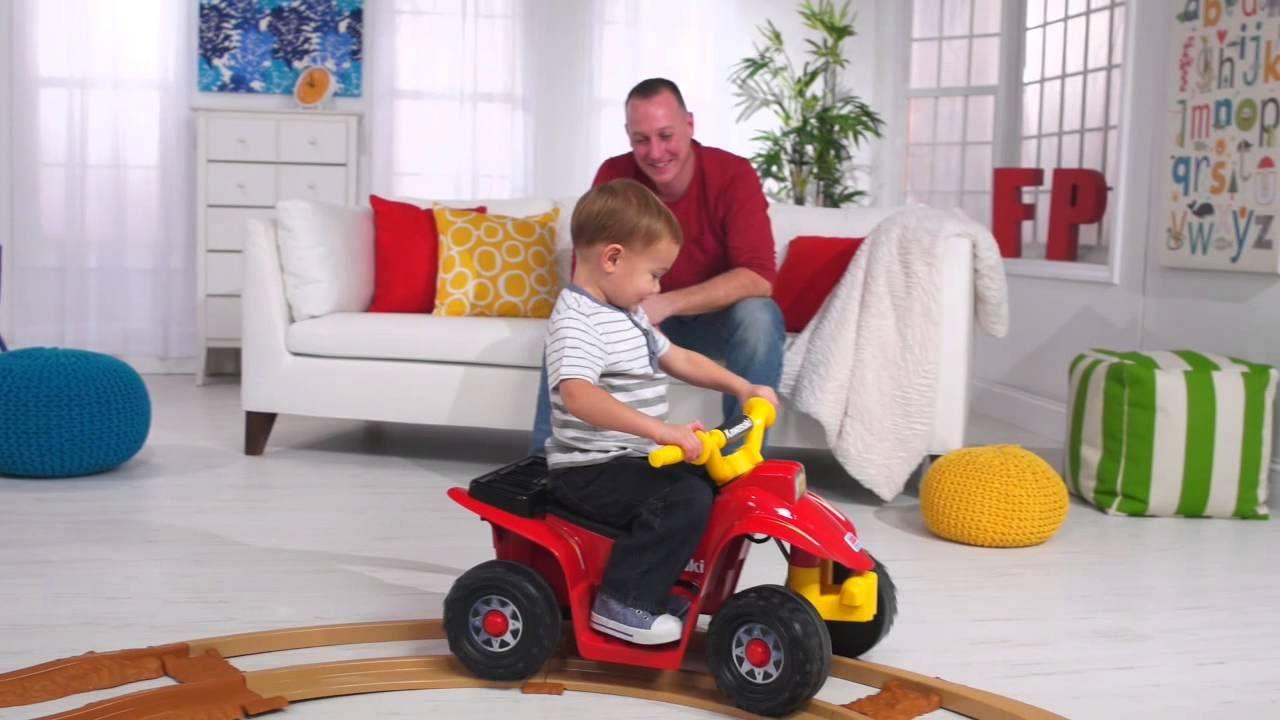 Power Wheels® Kawasaki Lil' Quad™ with Track - Demo   Baby