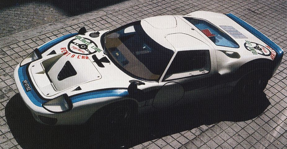 The ex-Emilio Marta - Angolan Championship winning 1969 Ford GT40 Mk 1 Chassis # P/1080