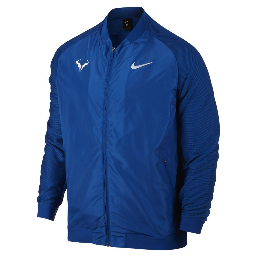 075e683bce18 Nike NikeCourt Rafa Men s Tennis Jacket Size Medium (Blue ...