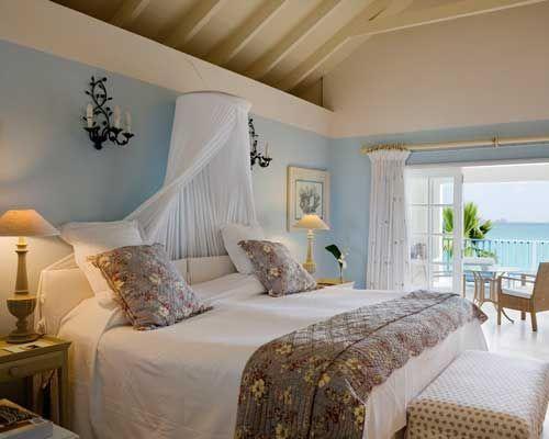 Beach Theme Bedroom Romantic Beach Themed Interior Bedroom With