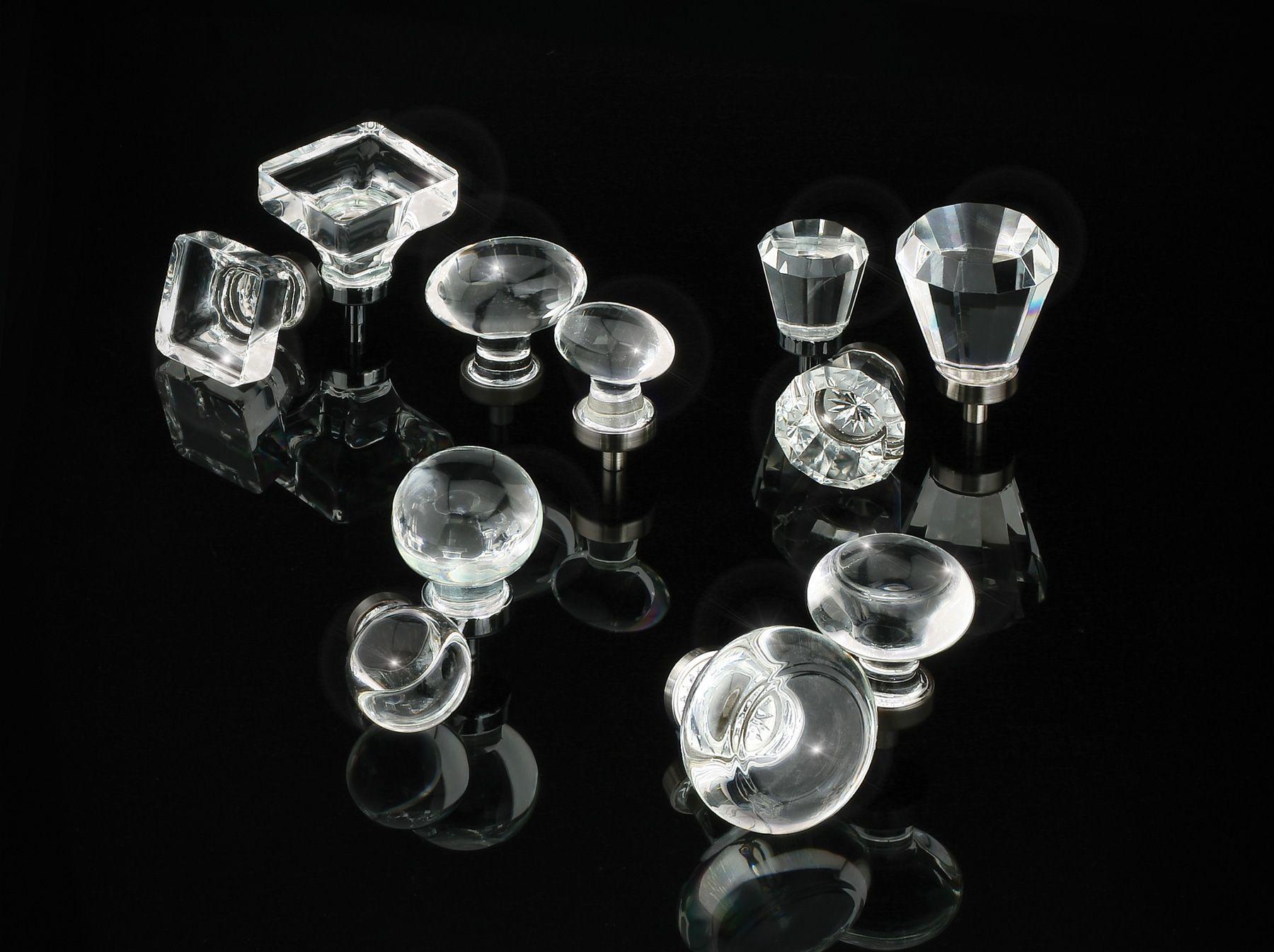 Crystal Cabinet Knobs Emtek Products Inc Decorative