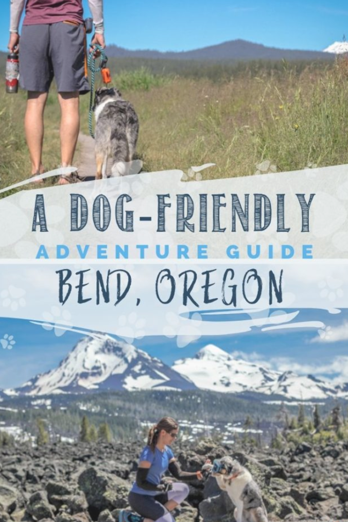 Bend, Oregon is a favorite dog-friendly destination for outdoor lovers. Create a fun adventure itinerary with this guide full of fun things to do in Bend. #visitbend #inbend #centraloregon #traveloregon
