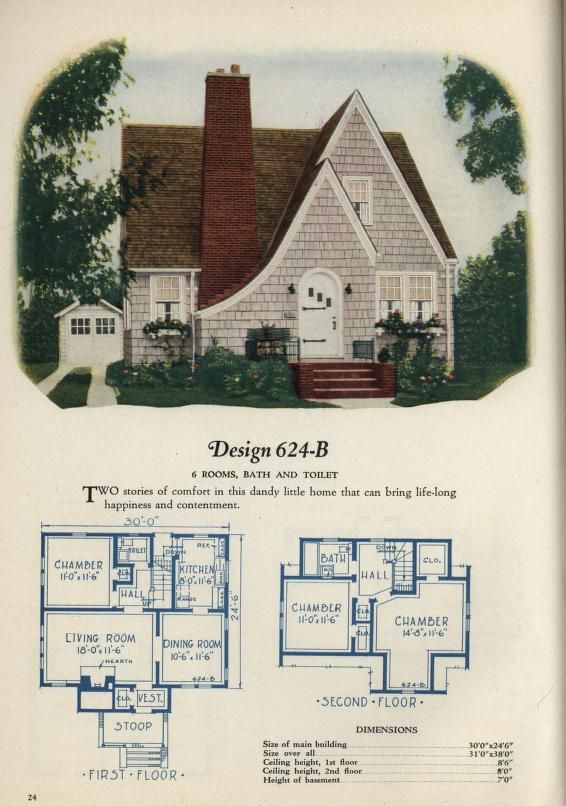 Book Of Homes Vintage House Plans Old House Design Vintage House