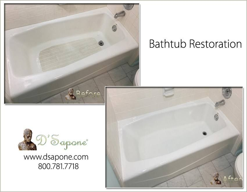 How Do You Clean A Badly Stained Bathtub Tub Refinishing