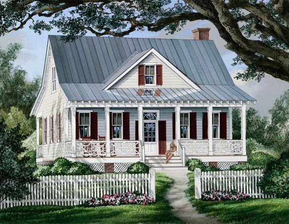 Coastal home plans mary street cottage love it small Farm cottage house plans