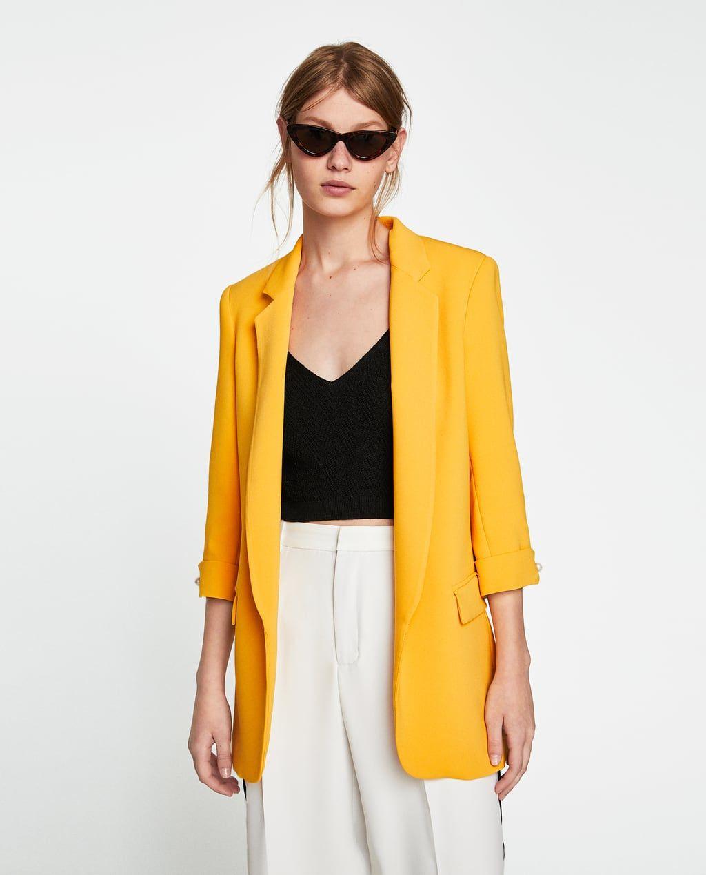 Blazer larga | Blazers | Ropa de moda, Ropa y Moda