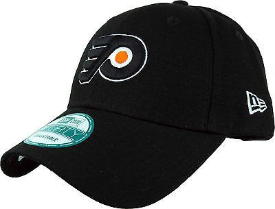 dbfe7b28128 Philadelphia Flyers New Era 940 The League NHL Adjustable Black Cap ...