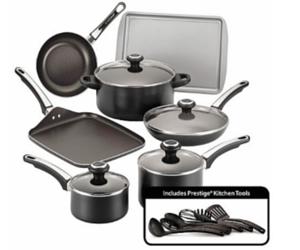 Kohls Farberware Nonstick Cookware Set 39 49 Shipped Pots And Pans Sets Cookware Set Ceramic Cookware Set