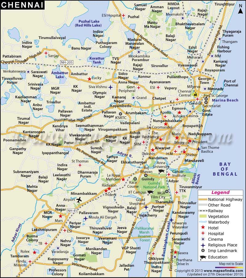 CHENNAI CITY MAP EBOOK