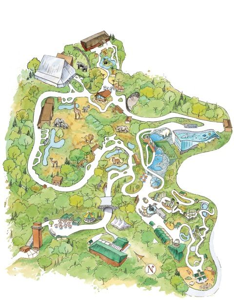 Pittsburgh Zoo Map Pittsburgh Zoo   interactive map | Pennsylvania Destinations  Pittsburgh Zoo Map