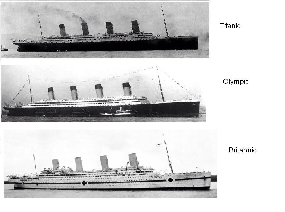 Olympic, Titanic, Britannic: An Illustrated History of the Olympic Class Ships free download