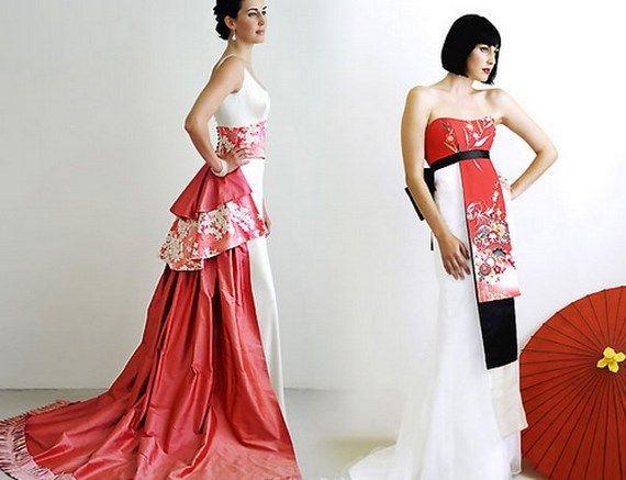 vestidos de novia estilo japones - buscar con google | vestidos a