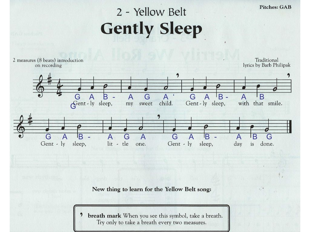 recipe: gently sleep recorder karate [12]