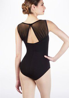 a8c51e6262c1 Intermezzo Padded Mesh Leotard | Ballet in 2019 | Leotards, Dance ...
