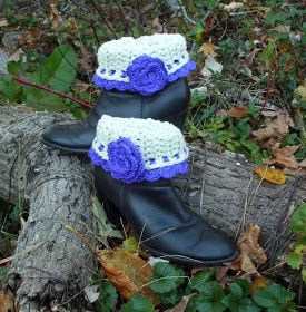 I have received several requests for this boot cuff pattern.  Unfortunately, I have a bad habit of crocheting items without w...