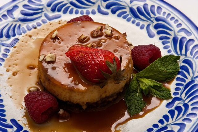 how to make mexican flan cake