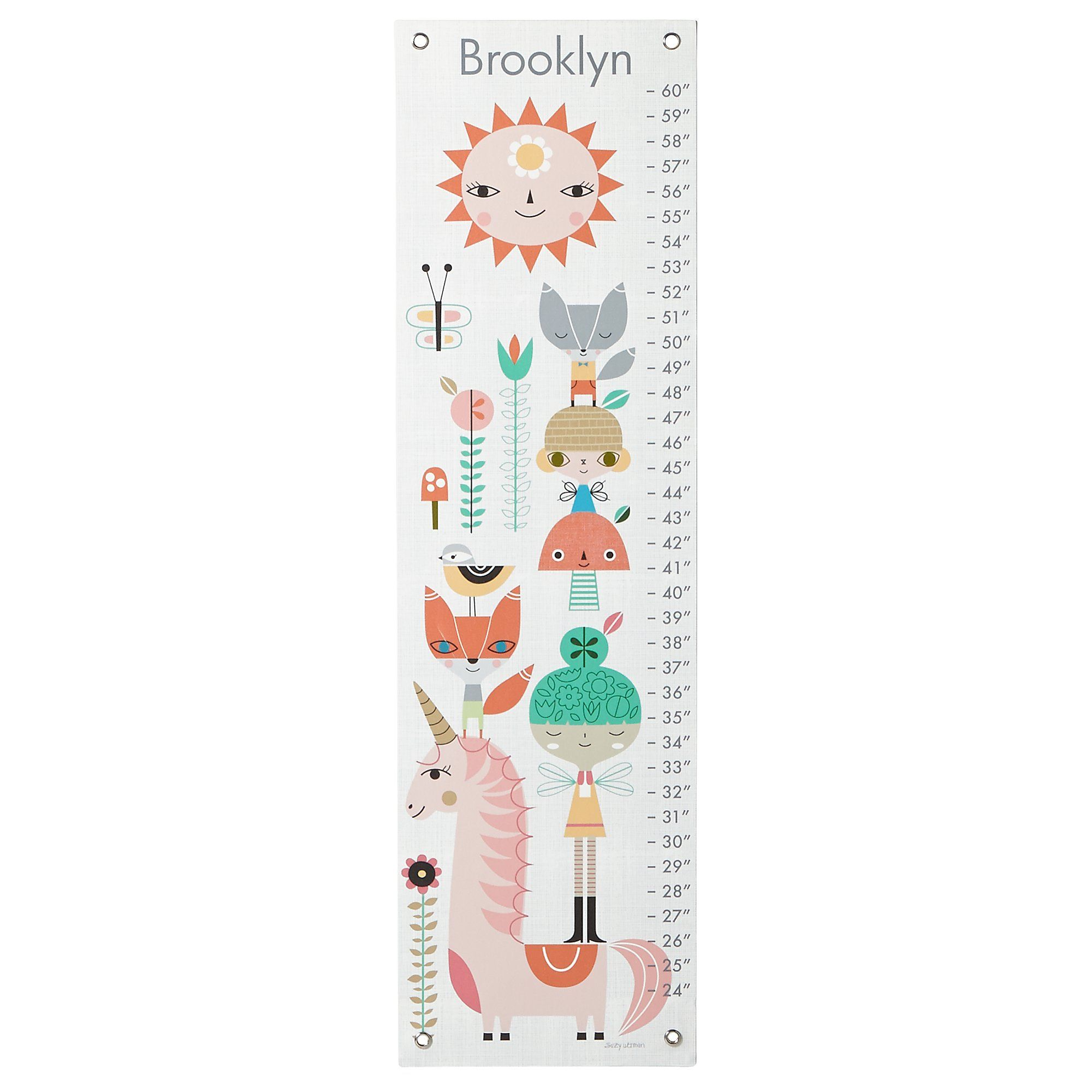 This Growth Chart Is Chock Full Of Fairies And Storybook Creatures