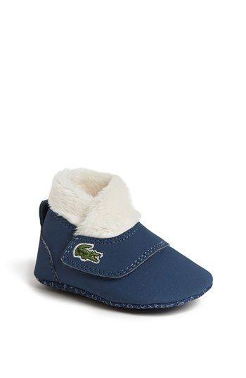 Lacoste 'Snug' Crib Shoe (Baby
