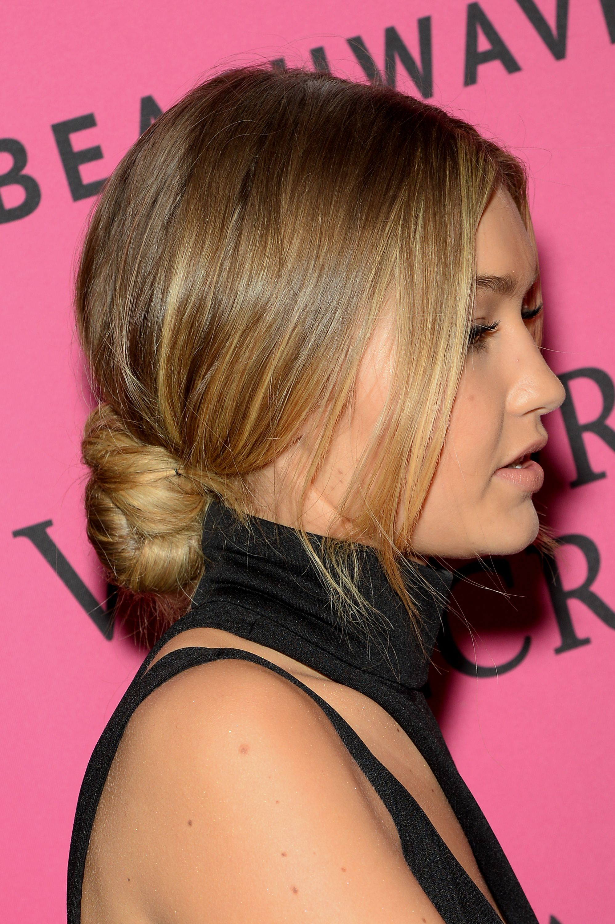 Now Trending A Gloriously Low Maintenance Updo
