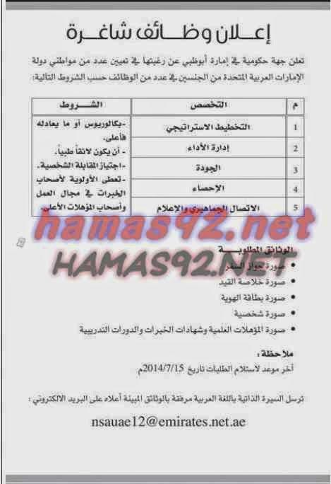 وظائف خالية مصرية وعربية وظائف خالية من جريدة البيان الامارات الاربعاء 11 0 Blog Posts Boarding Pass Blog