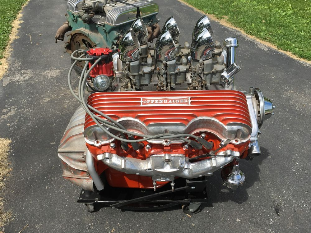 Chevy 409 engines pinterest engine cars and for Creston motors creston ia
