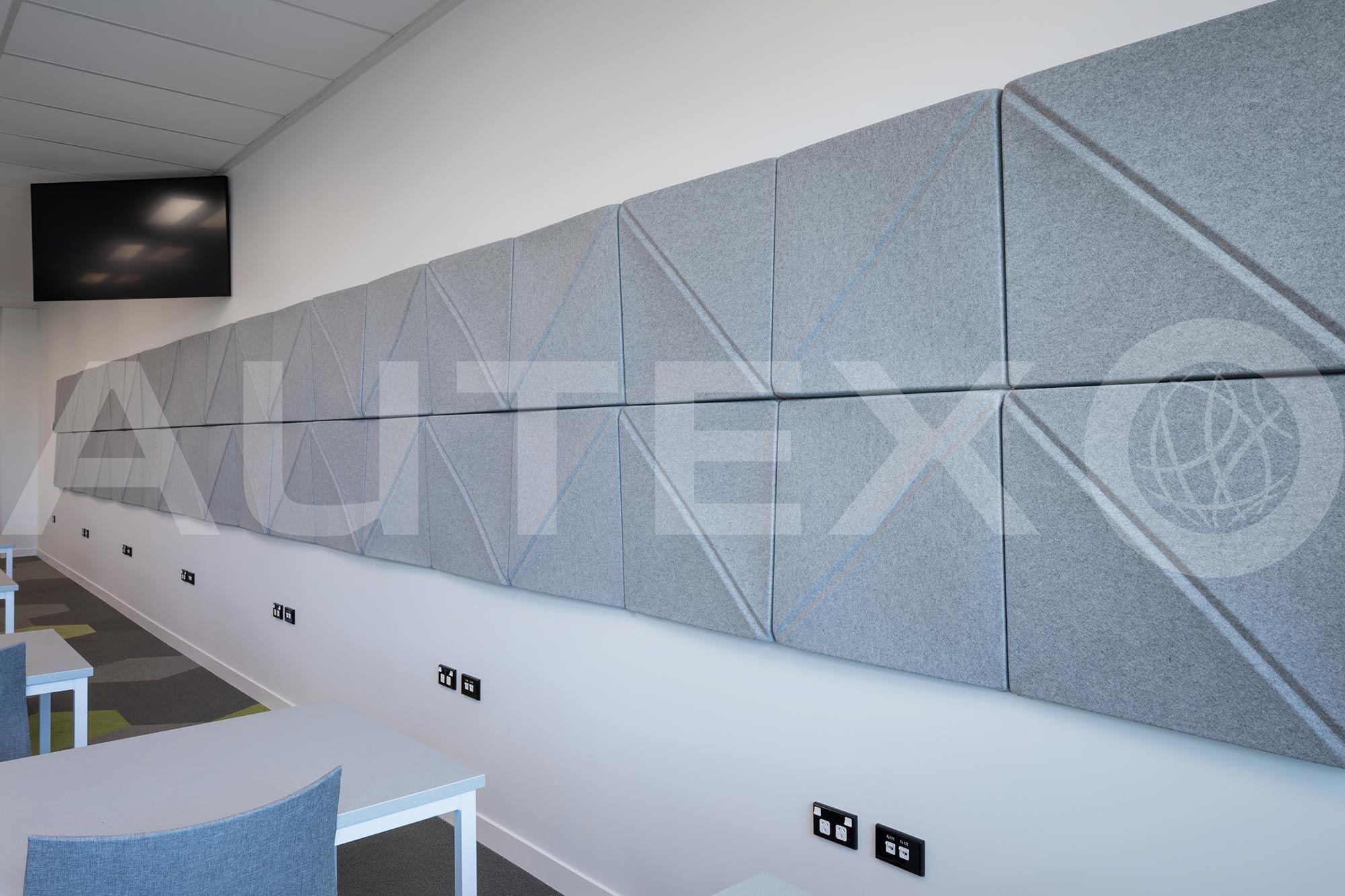 Autex Interior Acoustics Quietspace 3d Tiles Otago University