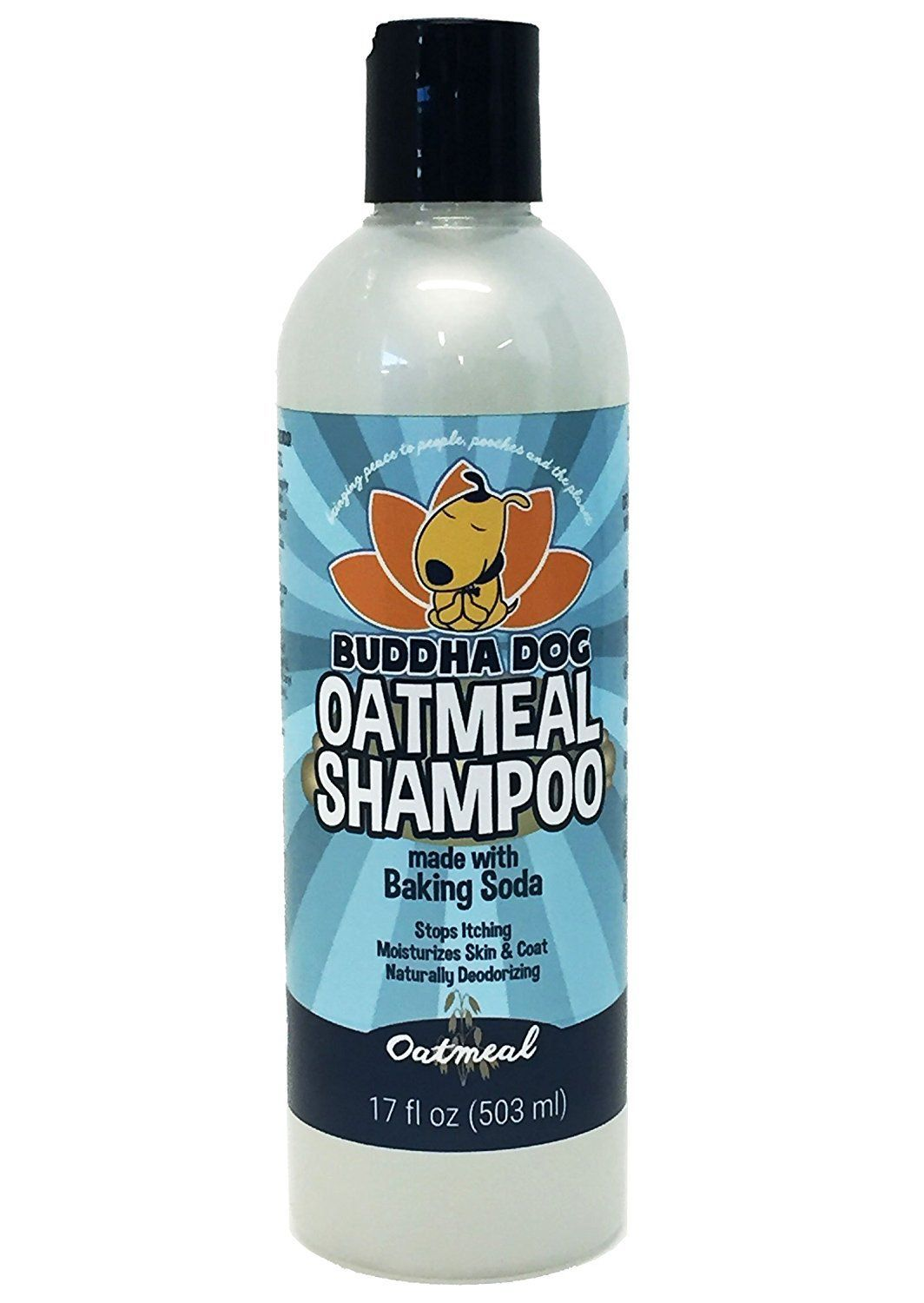 New All Natural Pet Oatmeal Shampoo Hypoallergenic Conditioning