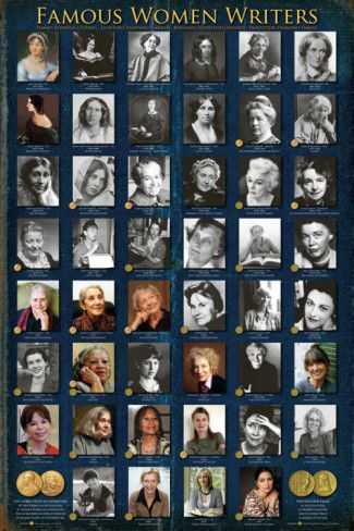 Famous Women Writers' Prints - | AllPosters.com | Women writers ...