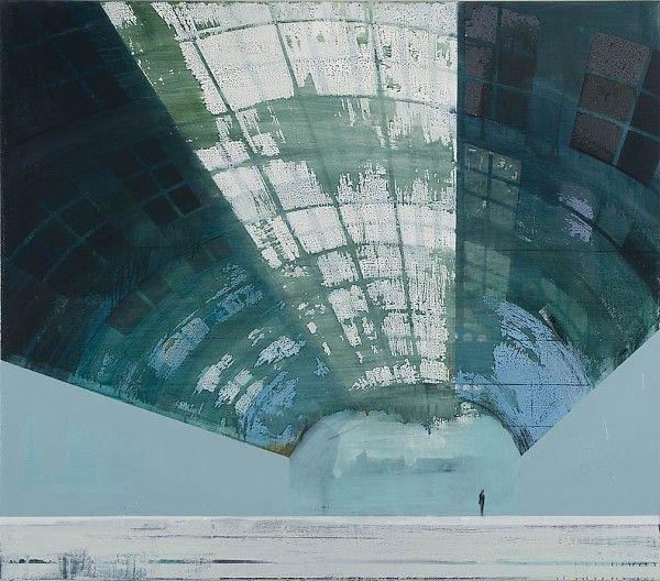 Kenneth Blom · Hangar · 2009 · 140 x 160 cm