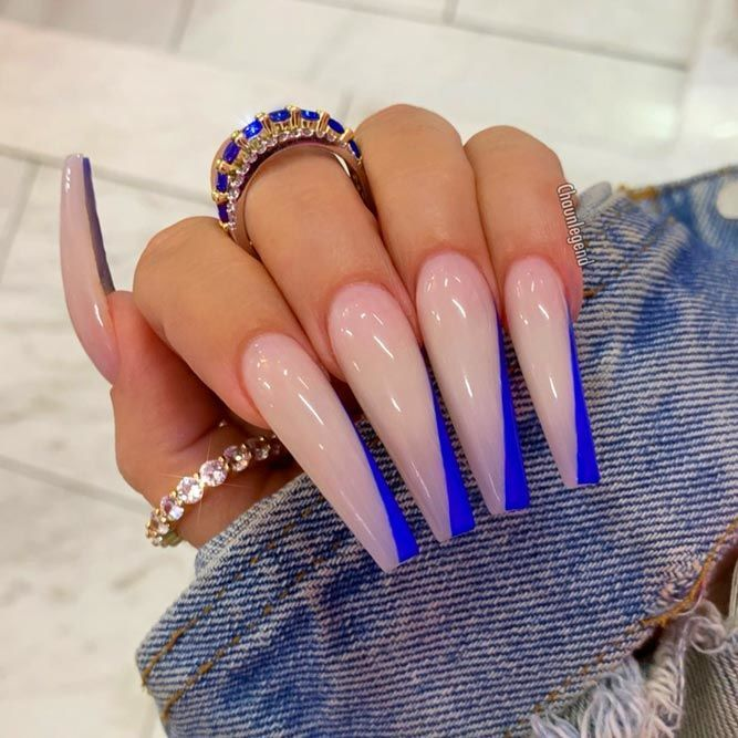 35 Fantastic Designs For Coffin Nails You Must Try #coffinnails