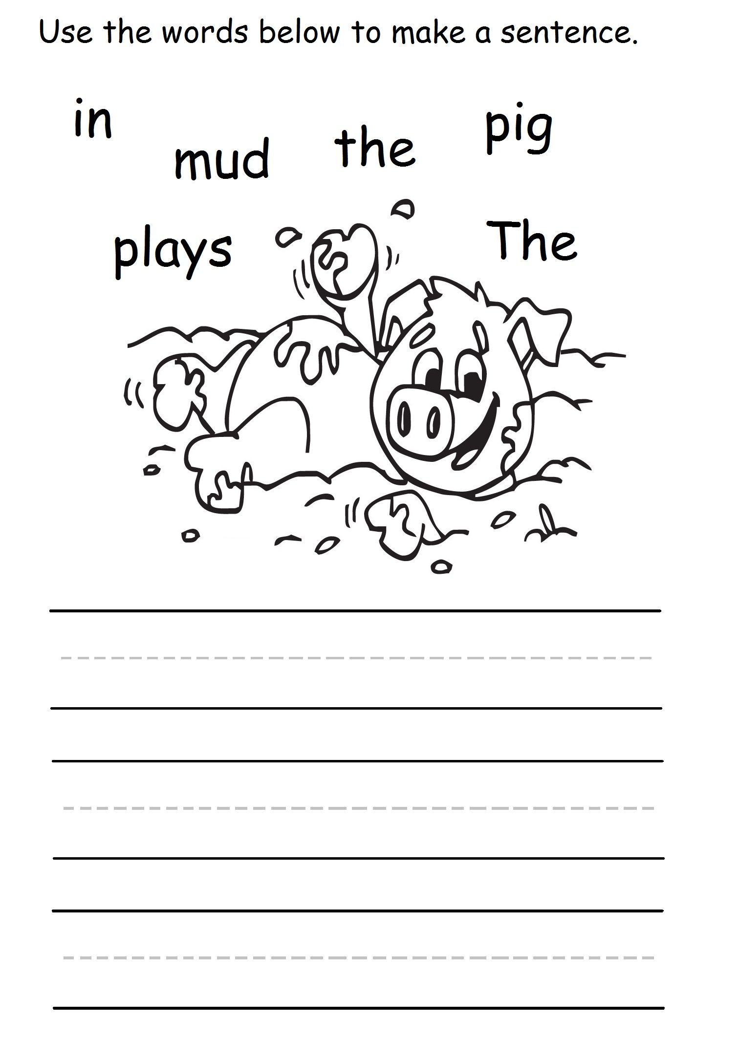 Pig In Mud Sentence