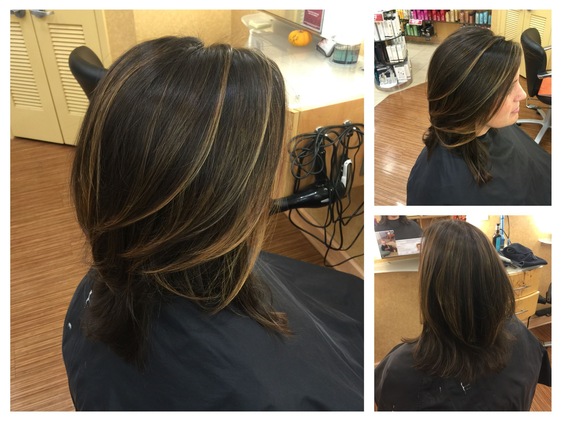 Mini Partial Balayage My Work Partial Balayage