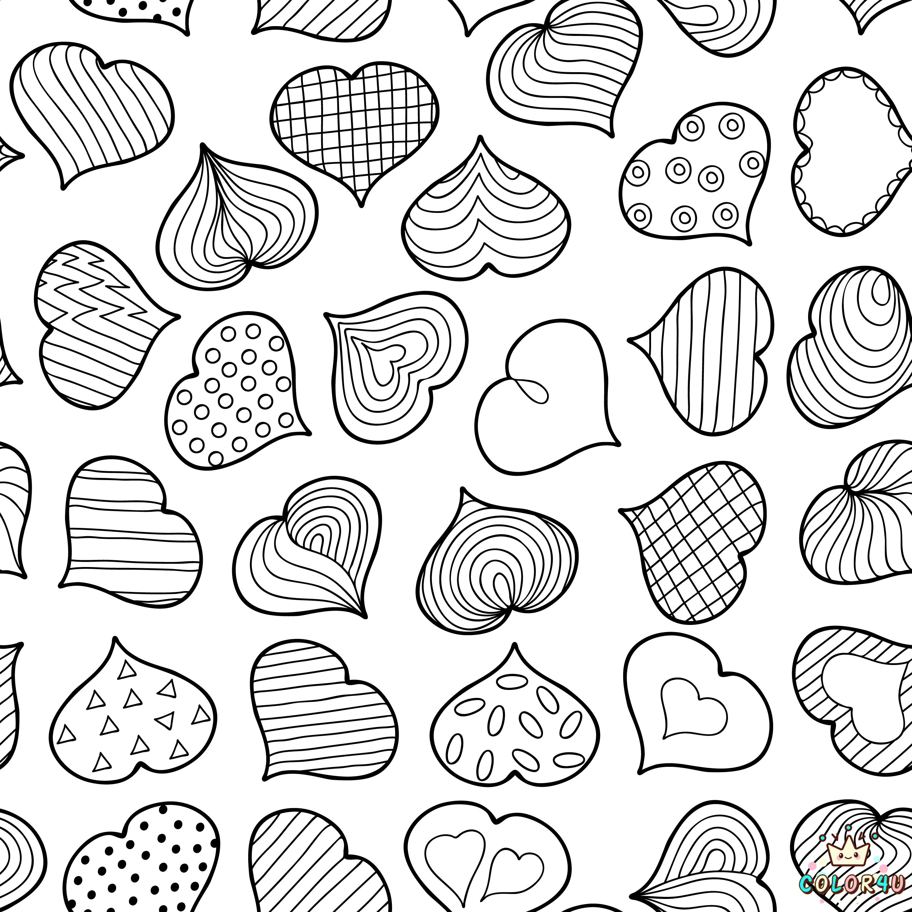 valentines #adultcoloring #agingwithfreedom #ValentinePrintables ...