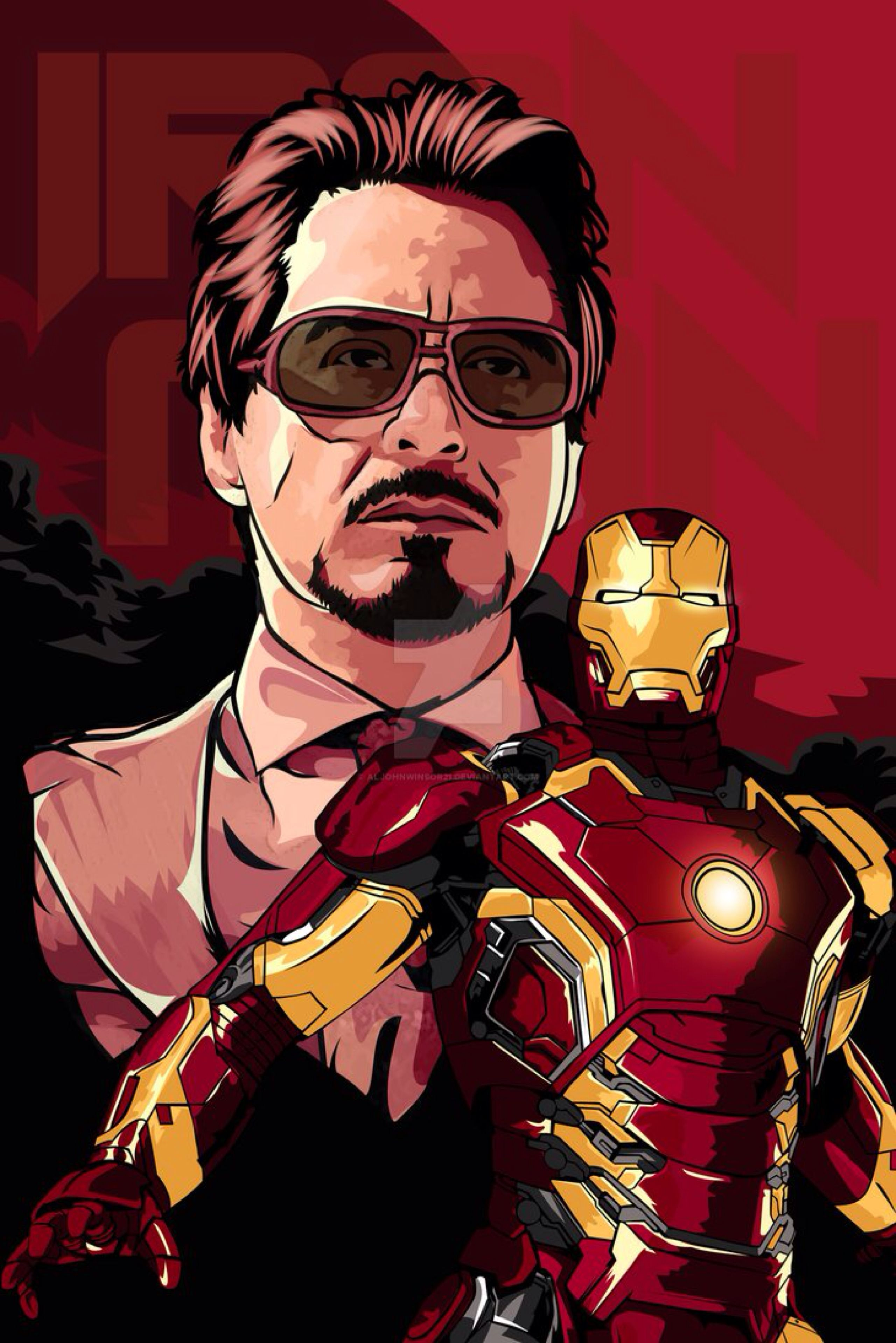 I Love You 3000 By Aljohnwinsor21 On Deviantart Iron Man Fan Art I Love You 3000 I Love You 3000 Art