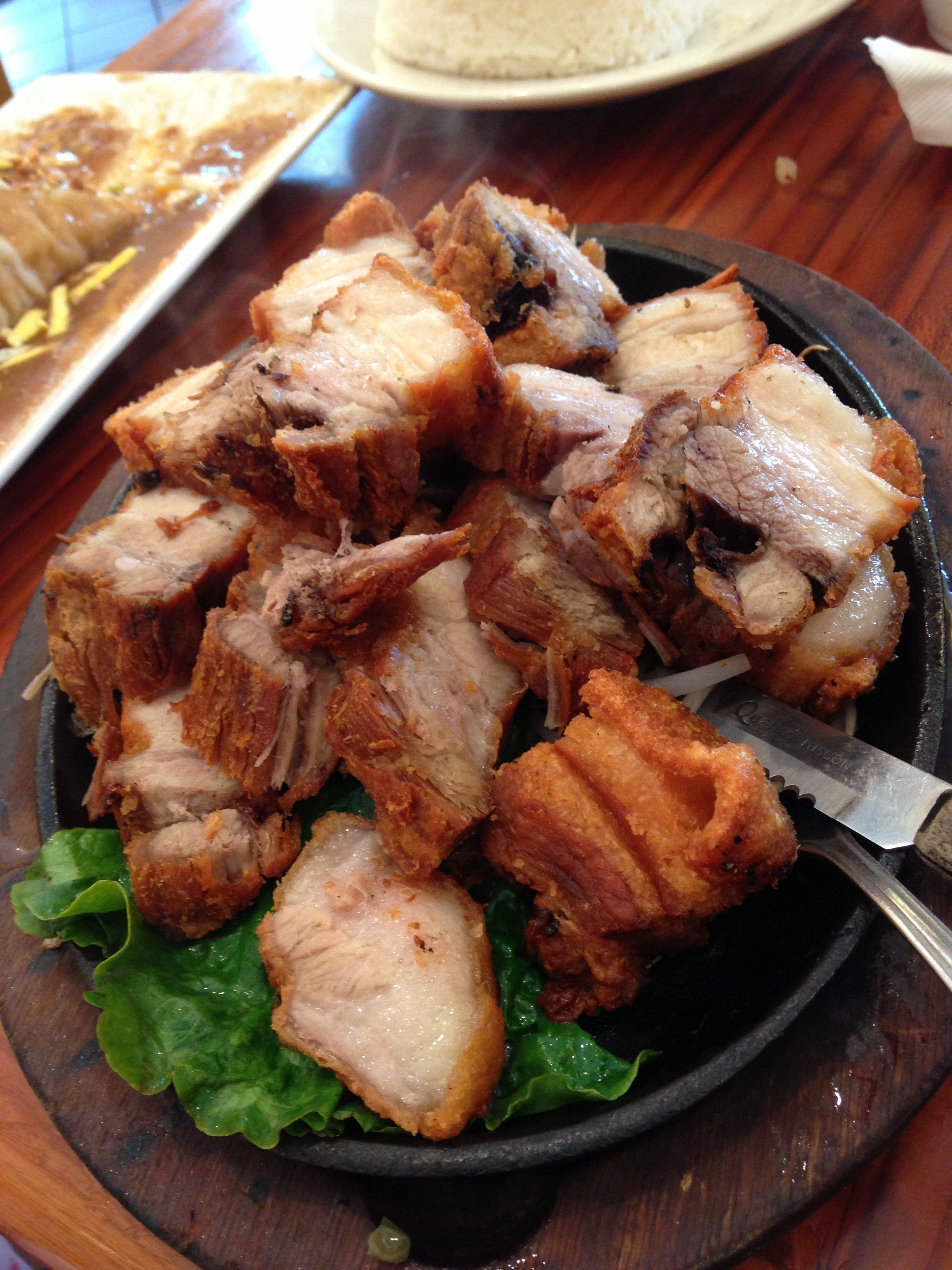 Crispy liempo... uhhhmmm!!! Yummy (With images) Filipino