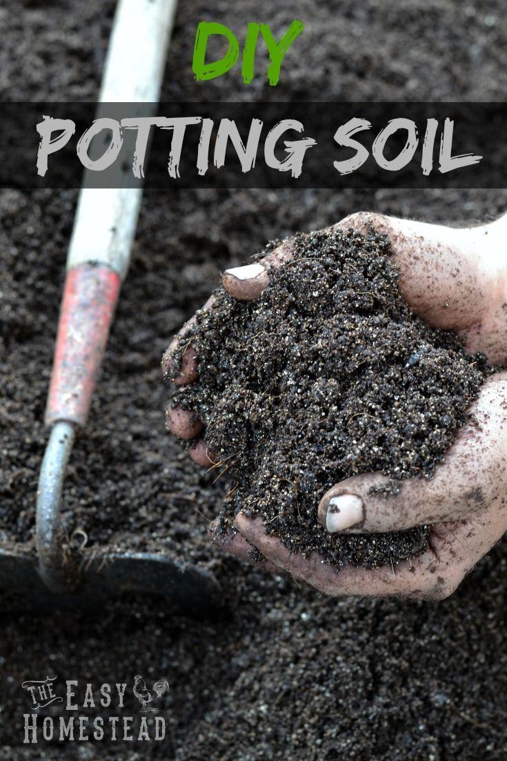 Diy potting soil container gardening garden soil - Best soil for container gardening ...