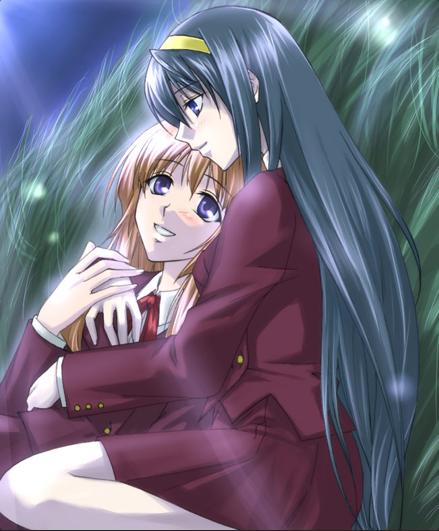 Chikane and himeko