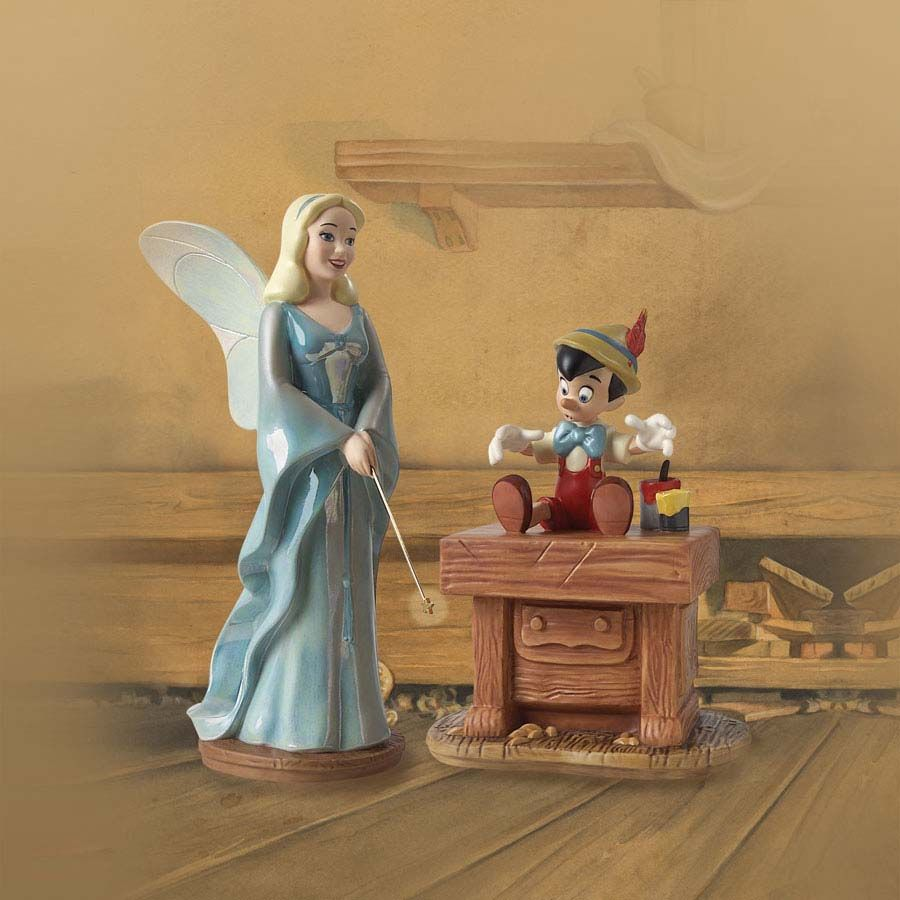 Walt Disney Classics Collection - Pinocchio - Blue Fairy and ...